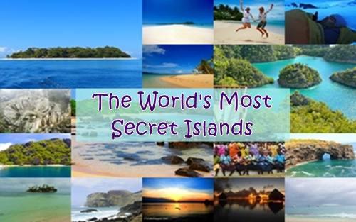 Top 20 Most Secret Islands (secret paradise) on Earth -CrizzyKiss